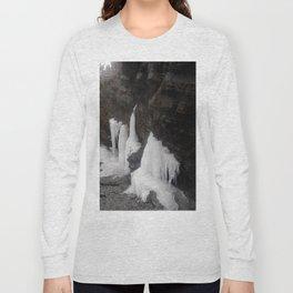 Coastal Waterfall Ice Long Sleeve T-shirt
