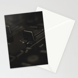 Music Mixer Stationery Cards
