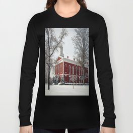 Side View of the Iron County Courthouse Long Sleeve T-shirt
