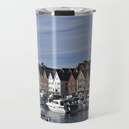 Bryggen view, Bergen Norway Travel Mug