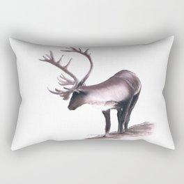 Lone Caribou Rectangular Pillow