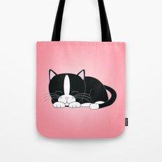 Tuxedo Kitten Tote Bag