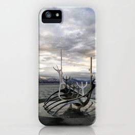 Sólfar - The Sun Voyager iPhone Case