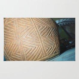 Wooden carving southwest Rug