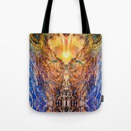 JagadAtman-SupremeSpirit  Spiritual awakening Tote Bag