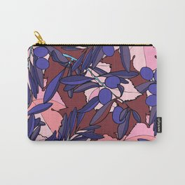 Pink Olives Carry-All Pouch
