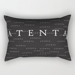 attentive Brazilian giria Rectangular Pillow