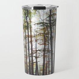 Autumn Forest Trees Travel Mug
