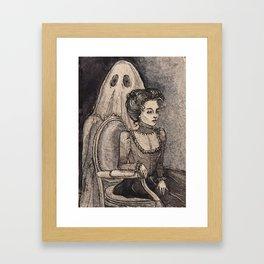 Mourning Light Framed Art Print