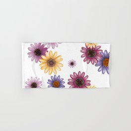 Multicolored natural flowers 13 Hand & Bath Towel