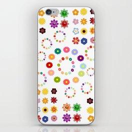 Many Flowers iPhone Skin