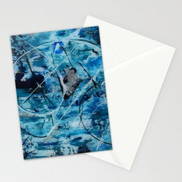 Sea motion Stationery Cards