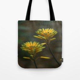 Yellow Blossoms Tote Bag