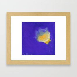 Dance of the Jelly Fish: Position III Framed Art Print