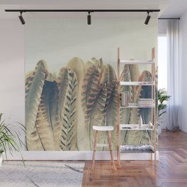 Feather Dip Wall Mural