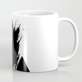 Splashed Triangle Coffee Mug