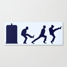 The Tardis of Silly Walks Canvas Print