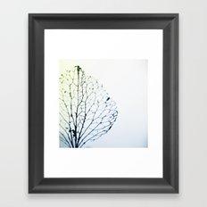 the lost horizon Framed Art Print