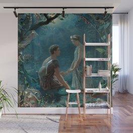 Hermia and Lysander. A Midsummer Night's Dream -  John Simmons Wall Mural