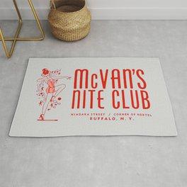 McVan's Nite Club in Red Rug