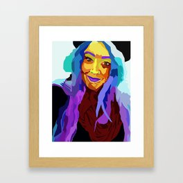 Colorful Lainey Framed Art Print