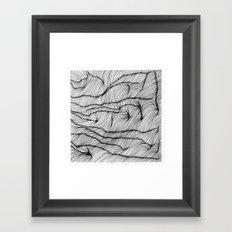 Lines #1 Framed Art Print