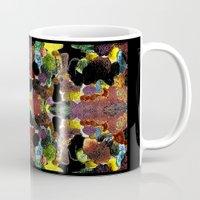 metallic Mugs featuring metallic by gasponce