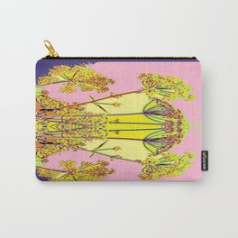 Queen Ann's Lace Floral Design Carry-All Pouch