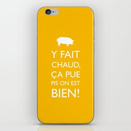 Fait chaud iPhone Skin