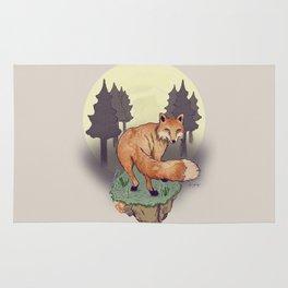 Snoqualm Fox Rug