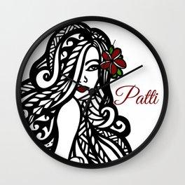 Patti Wall Clock