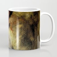 poetry Mugs featuring poetry studies by Imagery by dianna