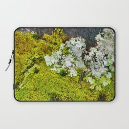 Tree Bark with Lichen#8 Laptop Sleeve