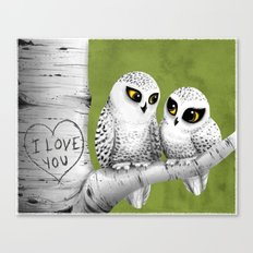 Owl Love You Canvas Print