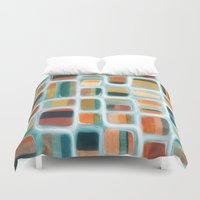 rothko Duvet Covers featuring Color apothecary by Efi Tolia