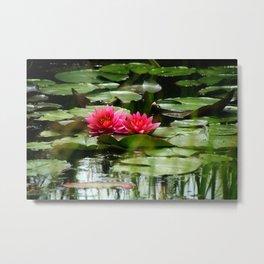 Waterlily - Study 1 Metal Print