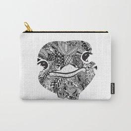 Zentangel Ostrich Close-up Carry-All Pouch