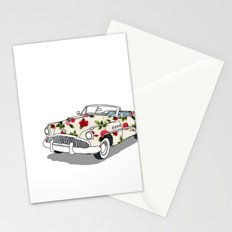 Blossom car Stationery Cards