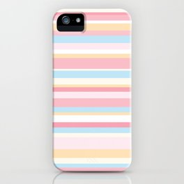 Whale Beach Stripe iPhone Case