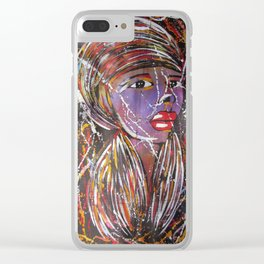 shalom Clear iPhone Case