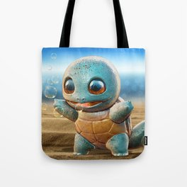 Realistic Squirtle Tote Bag