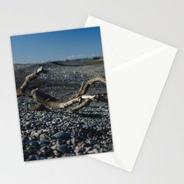 findings at ward beach Stationery Cards
