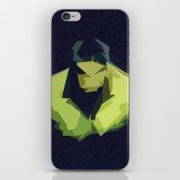 hulk iPhone & iPod Skins featuring Hulk by Javier Martinez