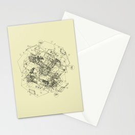 The Way Back Stationery Cards