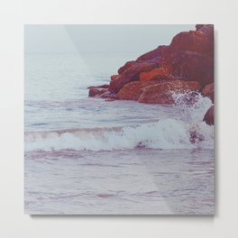 Gentle Tide Metal Print