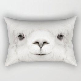 SMILING ALPACA Rectangular Pillow