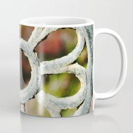 Metalic Flower Coffee Mug