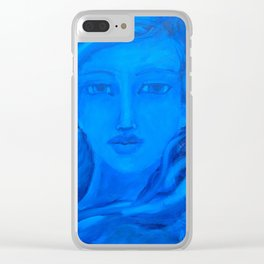 Calm Amidst the Storm Clear iPhone Case