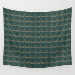 Nut Tree Floral Silk Sheet Embroidery Wall Tapestry