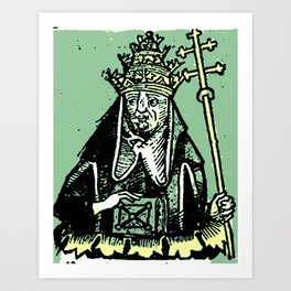 Antipope Art Print